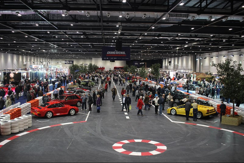 London Classic Car Show The Motoring Diary - London classic car show