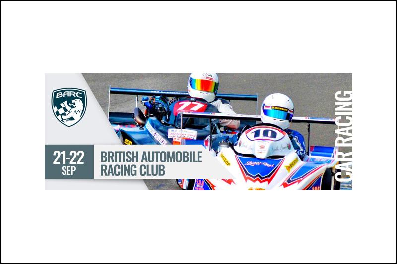 British Automobile Racing Club Race Meeting