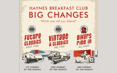 HAYNES BREAKFAST CLUB: BIG CHANGES FROM 1 MARCH 2020