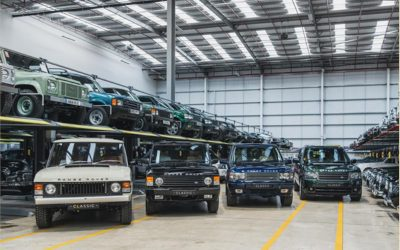 FIFTY YEARS OF LUXURY 4WD: RANGE ROVER'S ANNIVERSARY TO BE MARKED AT THE LONDON CLASSIC CAR SHOW