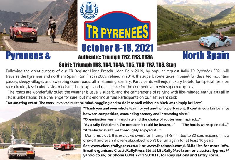 Rally TR Pyrenees
