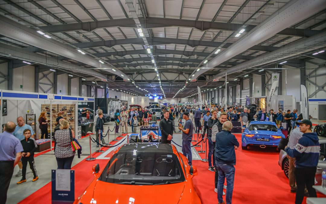 THOUSANDS FLOCK TO FARNBOROUGH AS THE BRITISH MOTOR SHOW SEES STAGGERING SUCCESS