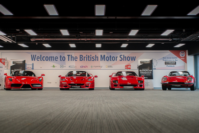 THE BRITISH MOTOR SHOW WILL RETURN IN 2022 – WITH EVEN MORE CONTENT