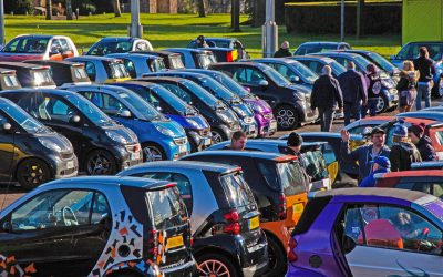 SMART CARS TO BE CENTRE STAGE FOR BEAULIEU'S SIMPLY SMART